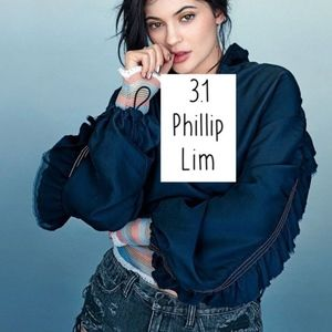 Kendall Jenner 3.1 Philip Lim Silk Hooded Jacket